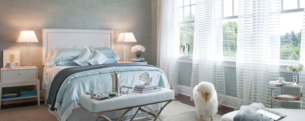 Luxury designer upholstery