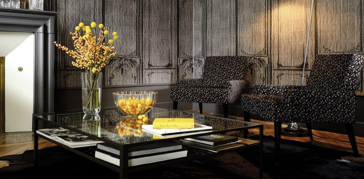 Luxury contemporary and traditional designer wallcoverings
