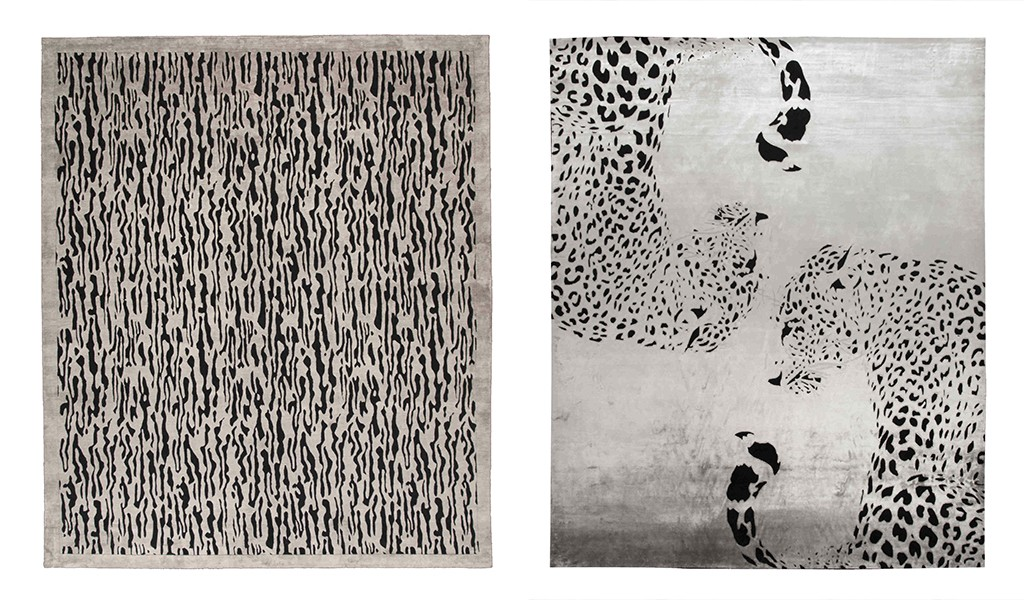 Luxury Italian animal design rugs