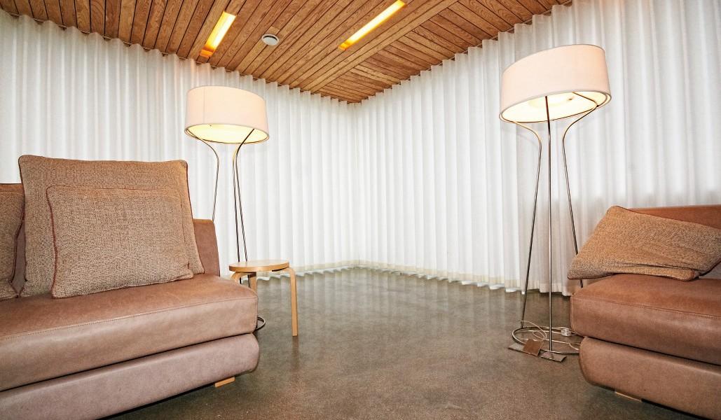 Custom wave curtains