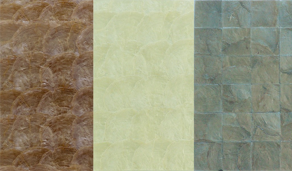 Hand inlaid textured wallcoverings