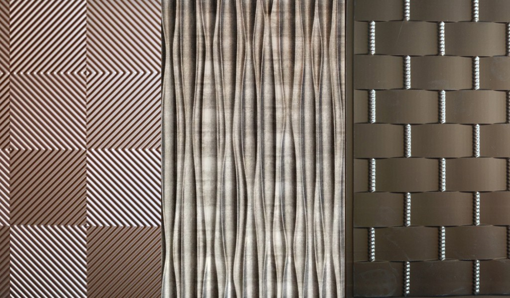 Textured and woven effect wallcoverings