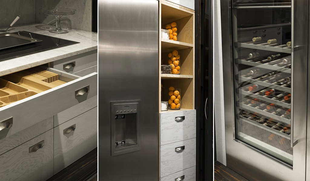 Custom luxury kitchens hand made in london - Luxurious kitchen appliances ...