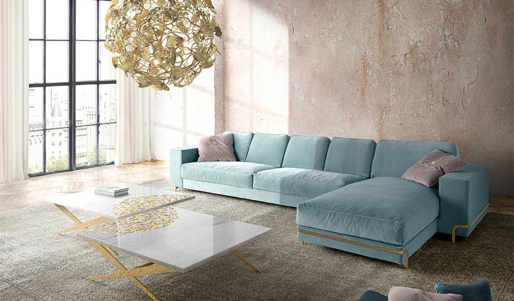 Custom Sectional Oboe Sofa Collection