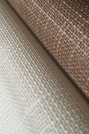 Luxury linen wallcovering