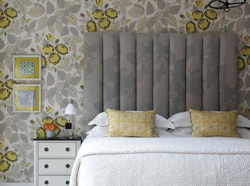 Similia Lemon wallpaper and fabric