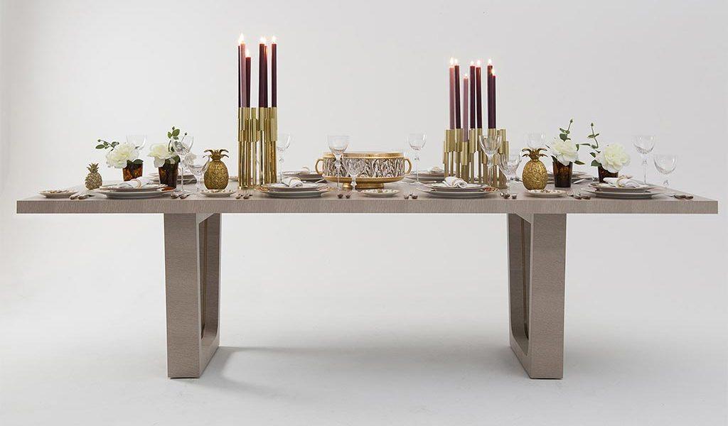 Custom luxury dining table